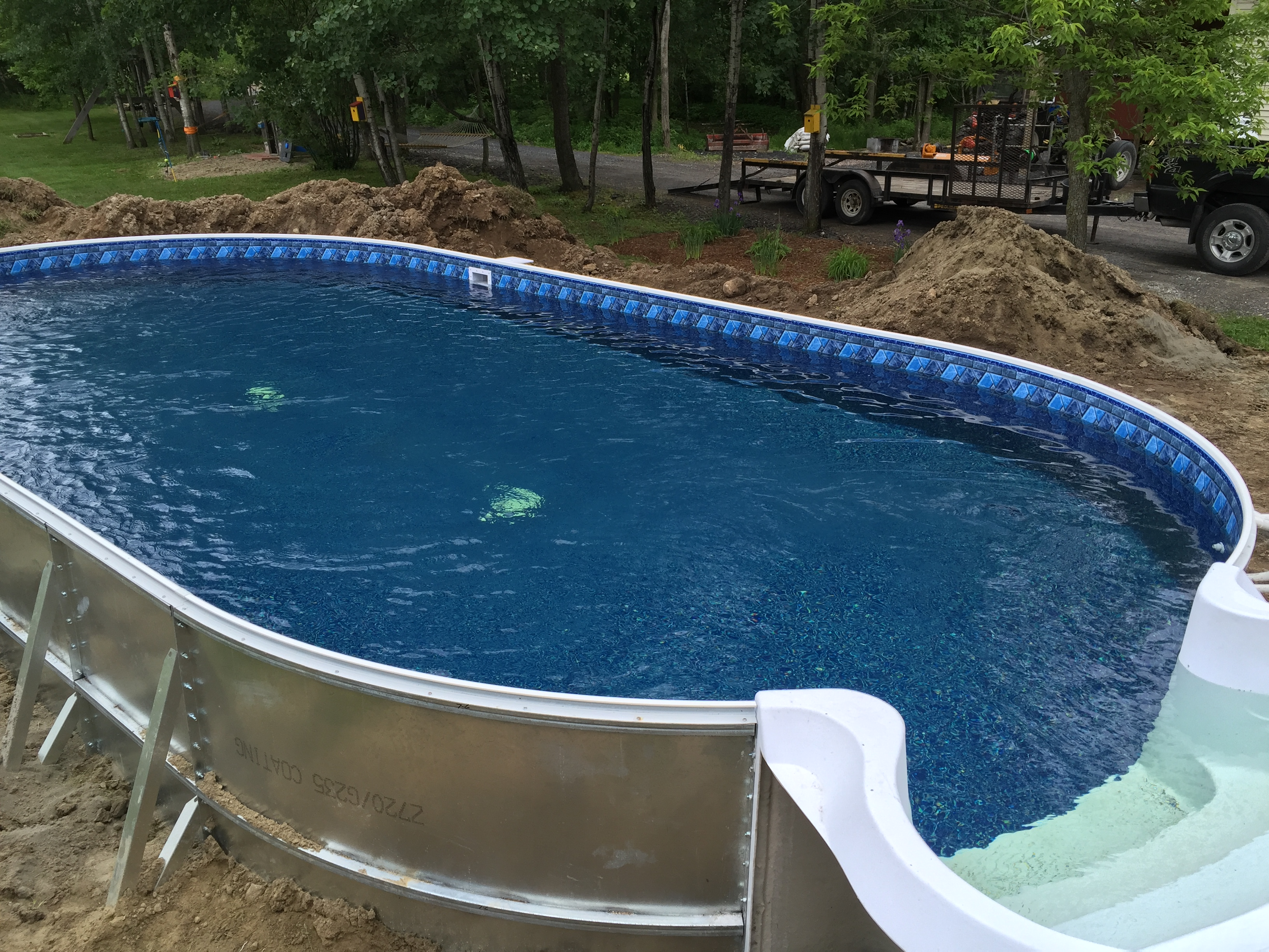 Photo gallery of installed pools branon 39 s pools for Walk in inground pool