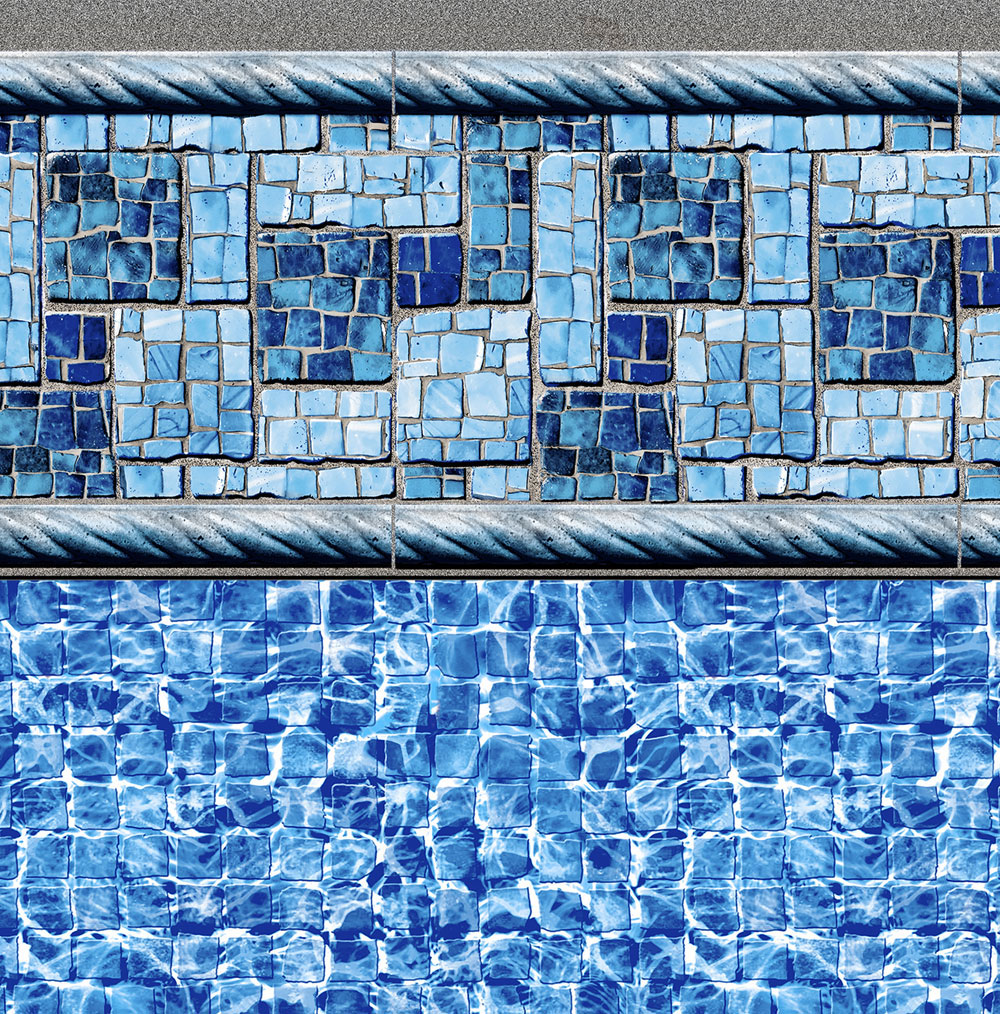 Summer River Tile - River Mosaic Floor
