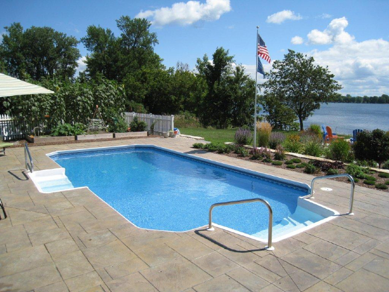 Photo Gallery Of Installed Pools Branon 39 S Pools