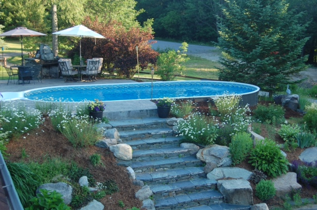 Photo Gallery Of Installed Pools Branon S Pools