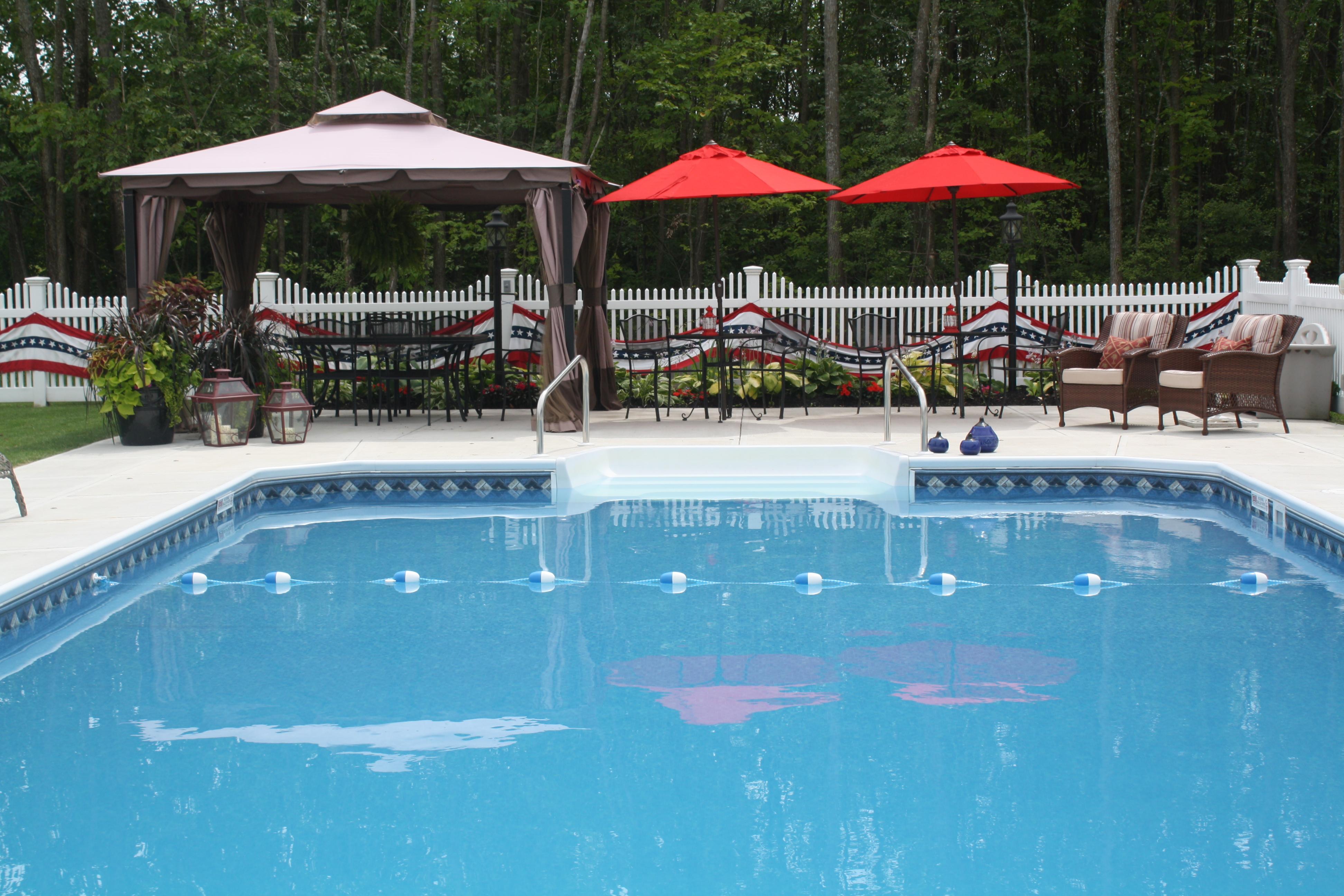 Semi In Ground Pools – Branon\'s Pools